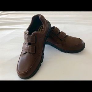 New Hush Puppies Jace Hook & Loop~6W~Loafers